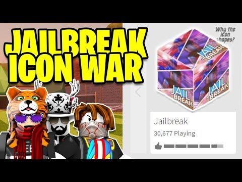 Jailbreak FORTNITE CUBE ICON WAR 😂 SIMON SAYS $50,000 Jailbreak Cash PRIZE! | Roblox Jailbreak LIVE