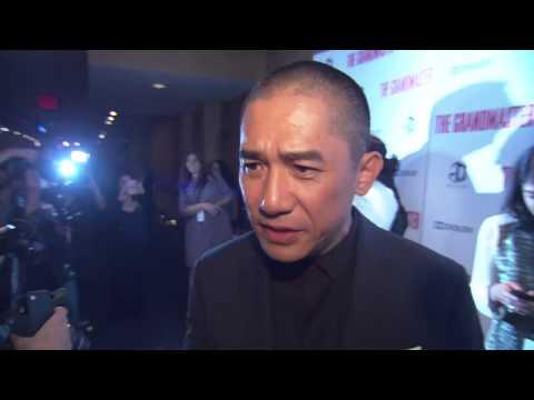 Tony Leung (The Grandmaster NY Premiere Red Carpet)