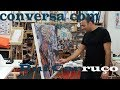 À conversa com Rui Carruço no Atelier Internacional de Belas Artes
