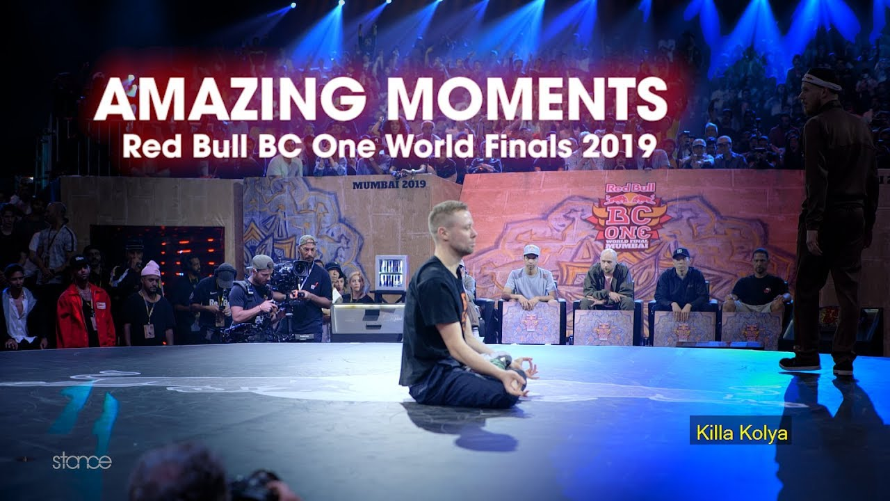 Amazing Moments at RED BULL BC ONE WORLD FINALS 2019 ? // .stance