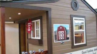 Idaho Wood Sheds @ Boise Home And Garden Show.