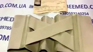 Бандаж при опущении почек (нефроптозе) Т110 - Видео