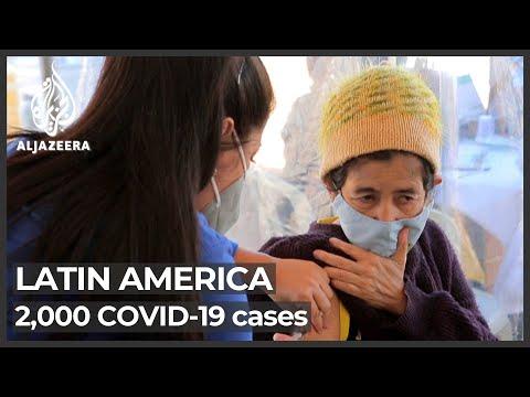 Amid hope, COVID continues to ravage Latin America