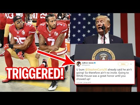 Donald Trump Sends A Message To NFL Anthem Protesters; Kaepernick Supporters Triggered #TakeAKnee