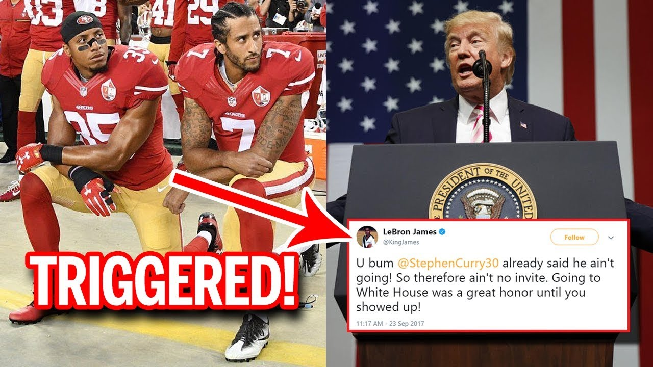 Trump Helps Kaepernick Drag the NFL Into Politics