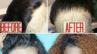 "How I create a ""Realistic looking"" hairline in 4 EASY STEPS { Start to Finish Customization }"