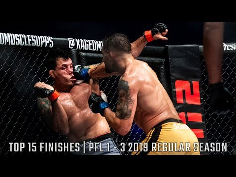 Top 15 Finishes of PFL 2019 Regular Season So Far | Professional Fighters League