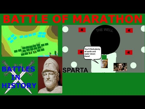 The Battle of Marathon - First Persian Invasion of Greece (492 BC - 490 BC)