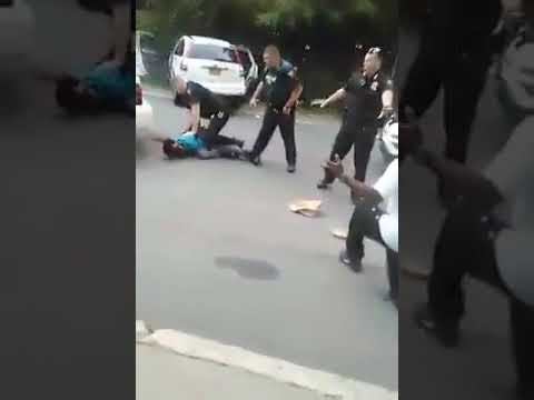 Aftermath Of New York Cops Shooting An Alleged Unarmed Man In The Head In Front Of Multiple Witnesse