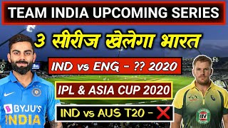 Indian Cricket Team Upcoming Series 2020 || BCCI RELEASED NEW SCHEDULE 2020