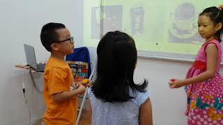 Dart game - Quỳnh Anh, Duy Anh - Ms Jenny's class