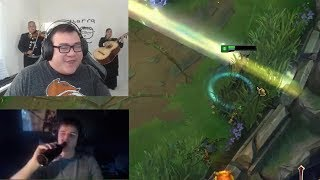 Scarra Gets Pranked by Mariachi Band | How to Dodge Lux Ultimate - LoL Funny Stream Moments #225