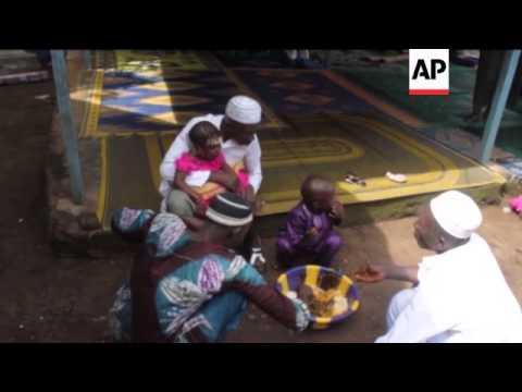 Ebola virus keep worshippers away from Eid prayers