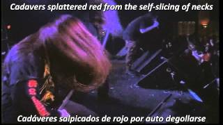 Cannibal Corpse - Gallery Of Suicide (Subtitulos Español Lyrics)