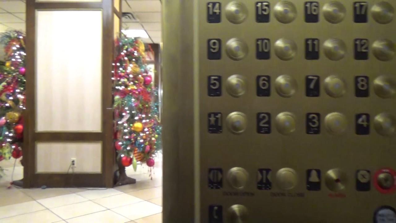 louisville ky otis traction elevators galt house hotel rivue tower