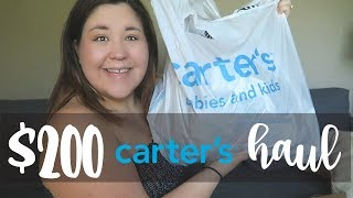 $200 Carters Baby Clothing Haul | Baby Boy Outfits