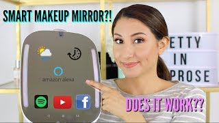 HiMirror Mini Tour! Smart Beauty Mirror!