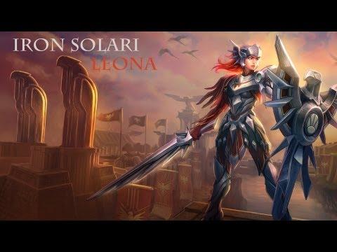 Iron Solari Leona Skin Spotlight