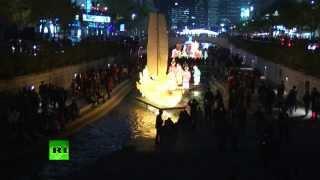 В Южной Корее стартовал ежегодный Фестиваль фонарей(В центре южнокорейской столицы на берегах ручья Чхонгечхон открылся пятый ежегодный Сеульский фестиваль..., 2013-11-01T12:17:45.000Z)
