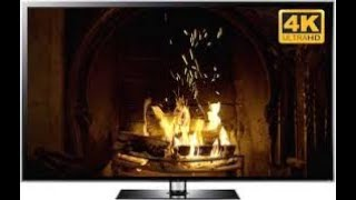 4K Fireplace Relaxing Jazz Calm Jazz Music