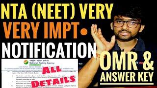 NTA (NEET) RELEASED VERY IMPORTANT NOTIFICATIONS,NEET VERY IMPORTANT UPDATES,OFFICIAL NOTIFICATIONS