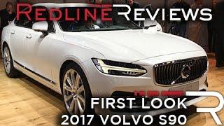 2017 Volvo S90 – Redline: First Look – 2016 Detroit Auto Show