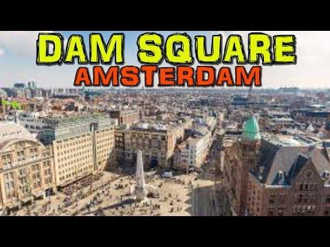 AMSTERDAM - DAM SQUARE 4K