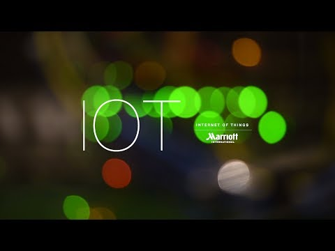 Marriott (teams with Samsung and Legrand) - IoT 'Smart' Hotel Room