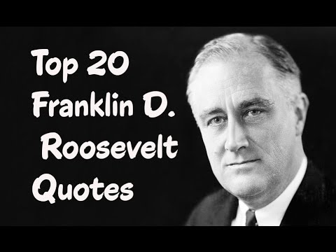 Top 60 Franklin D Roosevelt Quotes Author Of Looking Forward Custom Franklin D Roosevelt Quotes