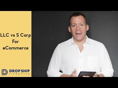 LLC Vs S Corp for eCommerce business?