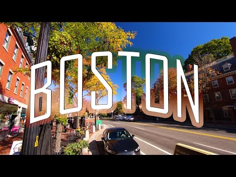 RoadTrip Boston to NewYork - State of Massachusetts [Part1]