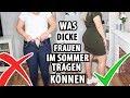 Was Dicke Frauen Tragen Können | Fashion Tipps |  TRY ON | Plussize | Annaxo