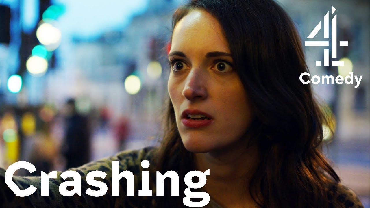 Download When You Think Your Girlfriend's a Lesbian?!   Comedy with Phoebe Waller-Bridge   Crashing
