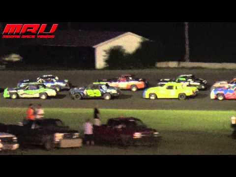 Hobby Stock Feature at Park Jefferson Speedway on July 10th, 2015