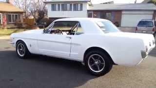 1965 Mustang 289 HiPo 4 speed.