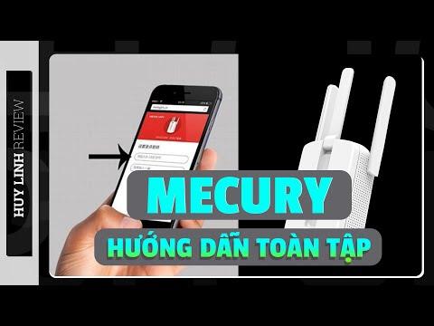 Hướng dẫn sử dụng kích sóng wifi Mecury toàn tập tại Huy Linh