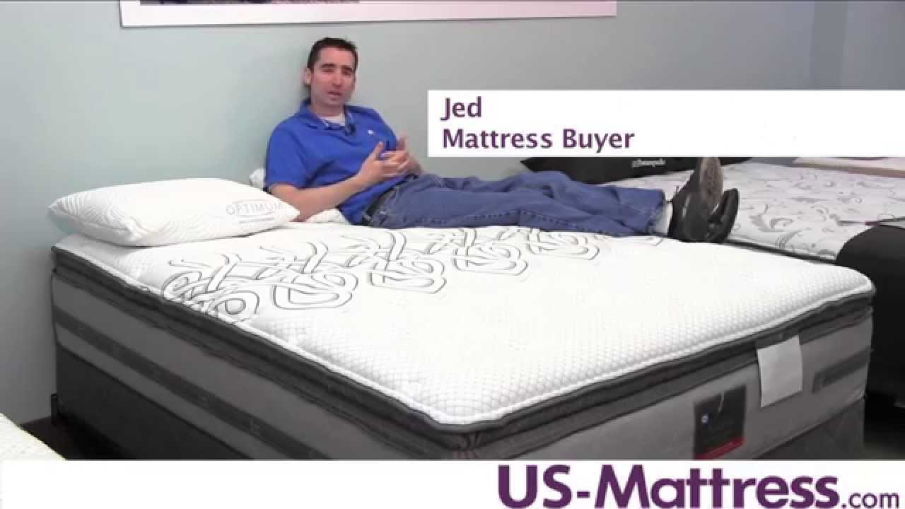 Sealy Posturepedic Platinum Adorned Plush Euro Pillow Top Mattress You
