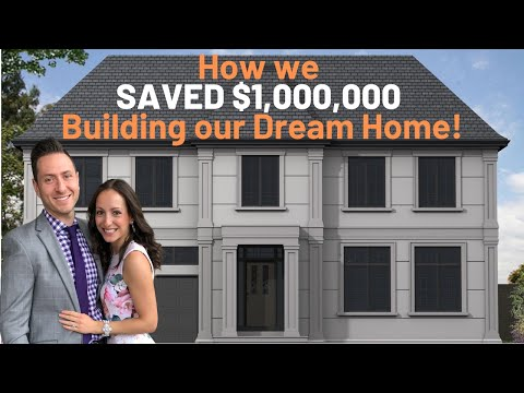 Cost To Build A House And How To Save Money Building A Custom Home!