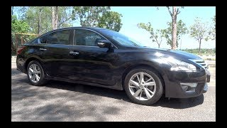 2015 Nissan Teana 2.5 XV Start-Up and Full Vehicle Tour