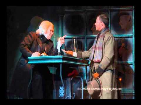Omaha Community Playhouse's A Christmas Carol with commentary by Eleanor Jones