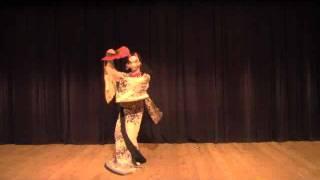 【BadApple!!】 傷林果 【Japanese Traditional Dance】lyrics & Romaji thumbnail