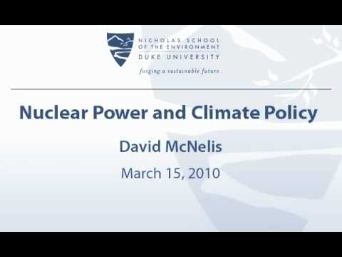 Nuclear Power and Climate Policy