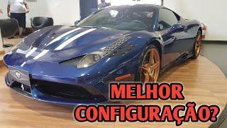 FERRARI 458 SPECIALE BLUE TDF NA PAITO MOTORS - CVBR #237