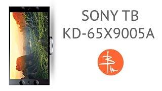 SONY KD-65X9005A - обзор 4К ТВ
