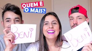 QUEM É O MAIS CIUMENTO? Feat. Rafael Supernok e Sandô