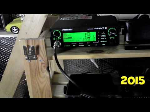 Getting started in 2015. Newbie with a Grant 2 CB radio.