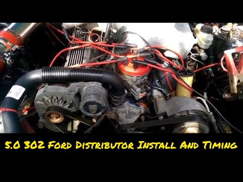 How To 5 0 302 Distributor Install And Setting Ignition Timing - YouTube