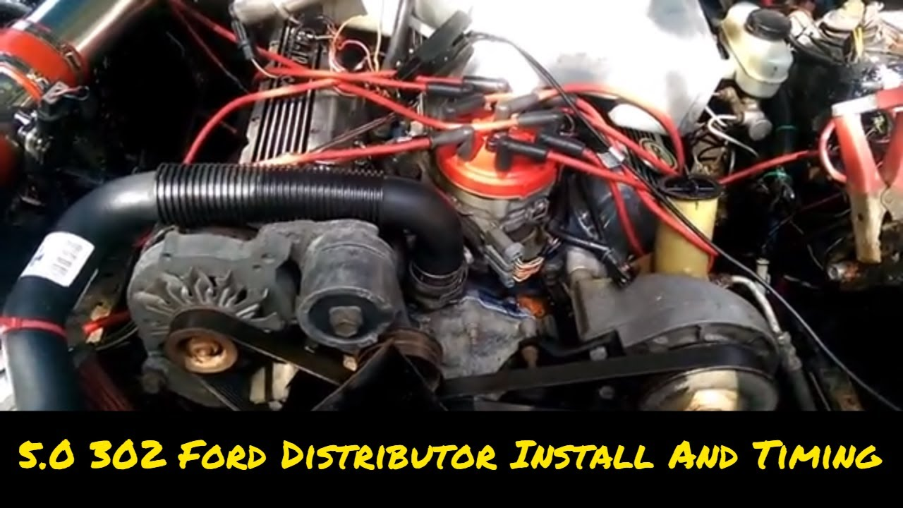 How To 5 0 302 Distributor Install And Setting Ignition Timing