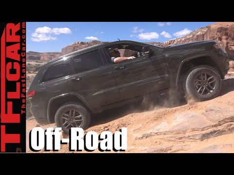 2016 Jeep Grand Cherokee Off Road >> 2016 Jeep Grand Cherokee 75th Edition Challenging Moab Off Road