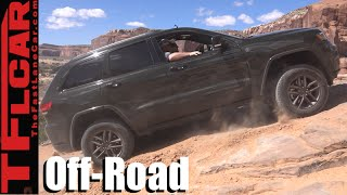 2016 Jeep Grand Cherokee 75th Edition Challenging Moab Off-Road Review